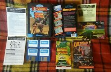 Worlds of ULTIMA Savage Empire SIGNED 1990 Compete 3.5 Lord British