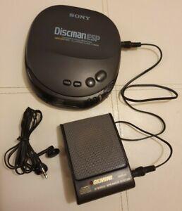 SONY D-242CK DISCMAN ESP ~ Personal CD Player & Accessories