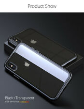 Magnetic Adsorption metal case for iphone 7/8 Plus luxury tempered glass cover