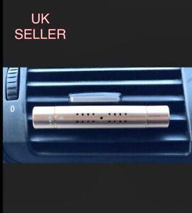 New Car Air Vent Clip  Perfume Diffuser 5 Aroma Fragrance Sticks-, Black,Gold