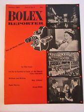 1953 BOLEX REPORTER MAGAZINE - SUMMER EDITION - SEE PICS - TUB QQQ