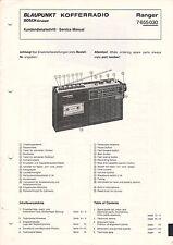 BLAUPUNKT - Ranger 7655030 - Kundendienstschrift Service Manual - B3220