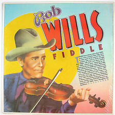 BOB WILLS Bob Wills Fiddle LP 1982 WESTERN SWING NM- NM-