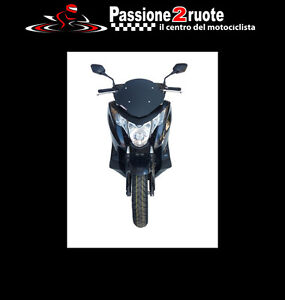 Fairing Plex Fabbri Honda Integra 2012 - 2014 Windscreen Gen-X Black Full