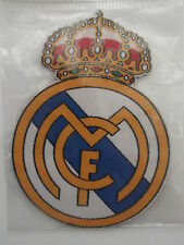 real madrid -  badge embroidery - new - sew or iron - real madrid spain