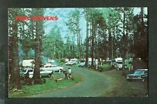 Vintage Postcard 1950s Cars Fort Stevens Oregon Coast Travel Trailer 408022