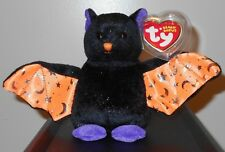 Ty Beanie Baby ~ SCAREM the Halloween Bat  ~ MINT with MINT TAGS ~RETIRED