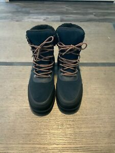 Hunter Women's Insulated Leather Commando Winter Snow Boots Size 8