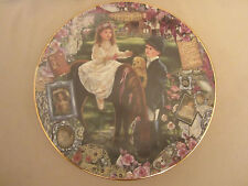 Corinne Layton collector plate Riding Companion Keepsakes of the Heart