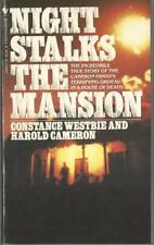 Night Stalks the Mansion by Constance Westbie Mass Market Paperback