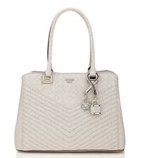 GUESS Halley Girlfriend Logo Print Satchel Handbag Brand New With Tags RRP £150