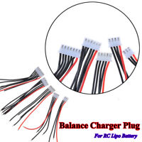 5 stücke RC Lipo Batterie Balance Ladegerät Stecker 22AWG Kabel Für IMAX B3B6