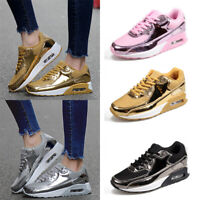 Women's Tennis Shoes Sneakers Bling Sequin Walking Training Running Sports Shoes