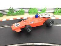 Scalextric Car Vintage F1 Arrow Red C023 Slot Car