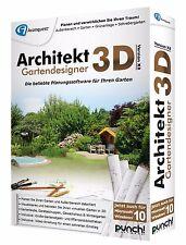Punch! Architekt 3D X8 Gartendesigner CD/DVD Win Version 18 EAN 4023126117816