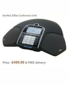 Konftel 300w Conference Unit with Dect and Batery 910101066/910101067 .#
