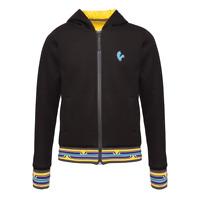 Vespa men's V-Stripes Zipped Hooded Jacket Black New 606636M02B
