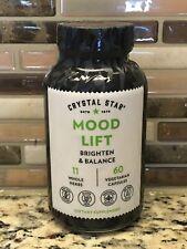 Crystal Star Mood Lift Brighten & Balance 60 Vegetarian Capsules Exp 01/2023