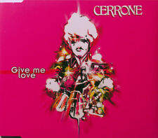 CERRONE GIVE ME LOVE 4 TRACK CD SINGLE FREE P&P