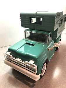 Buddy L No 5454 Deluxe Pickup Camper Truck - Pressed Steel - USA EXCELLENT!!