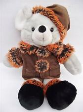 Chosun MOUSE Brown Corduroy Coat Hat Boots Plush Stuffed Animal Winter Fall Grey