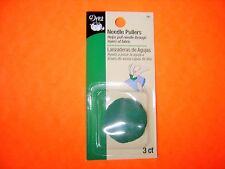 Dritz - 3 pack Needle Pullers - Green Color - Helps Pull Needle Through Fabric