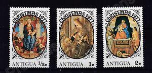 Antigua MNH STAMP SET OF 3 STAMPS CHRISTMAS 1977 SG 554-556