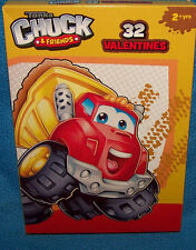 Valentines Day Cards (Box of 32) Tonka Chuck & Friends