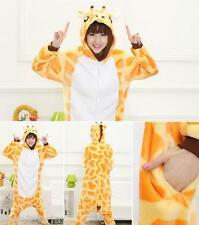 FP Flanelle Pyjama Animaux Girafe Cosplay Costume Facile A Toilette Mignon