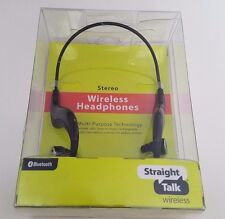 Straight Talk Wireless Bluetooth Headphones, Headband, Headset in Retail Package