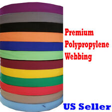 "1"" 2"" 1.5"" Inch Polypropylene Webbing Tan Orange Pp Strap 5/10/yard Color"