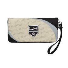 "NEW LOS ANGELES KINGS ""CURVE"" ZIP ORGANIZER WALLET WRISTLET"