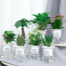 Self-Watering Flower Plant Pot Lazy Flowerpot Planter Garden Home Decor Supply