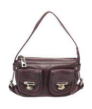 Marc Jacobs Purple Leather Shoulder Bag