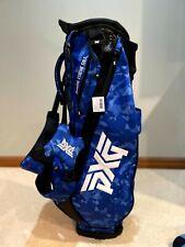 New listing New PXG Blue Paratrooper Camo Carry Stand Bag