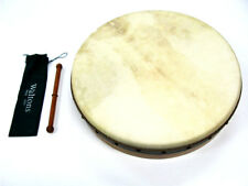 "WALTONS 18"" PRO DELUXE BODHRAN 5 Ply Ages Oak Shell Premium Quality Head"