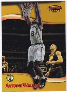 1998-99 Bowman's Best Refractor #90 Antoine Walker 204/400 Celtics