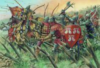 Italeri 1:72 - 6027, 100-jähriger Krieg Englische Ritter, Agincourt, Modellbau