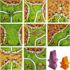 Carcassonne Ersatzteile - Magier & Hexe Mini Erweiterung