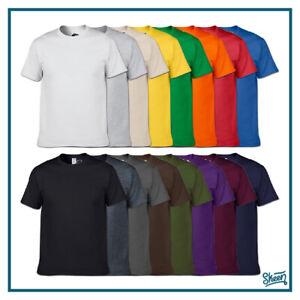 T-shirt Maglia Magliette Tshirt da Uomo Donna Lavoro in Cotone a Manica Corta