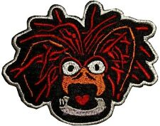 Pepe the King Prawn Face Embroidered Patch Kermit the Frog Miss Piggy Gonzo