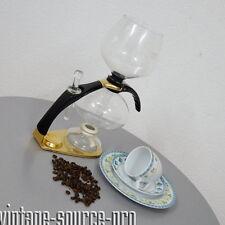 edle CONA Glas Kaffeemaschine Kaffeebereiter Coffee Maker Size C Gold Edition
