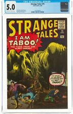 STRANGE TALES #75 CGC 5.0 AND A STRICT G/G+ COPY 3RD IRON MAN PROTOYPE!!!
