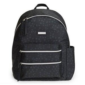 Skip Hop Black Tonal Carrington Nappy Backpack