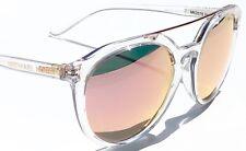 NEW* MICHAEL KORS MK2076 CAPE MAY CLEAR frame  Rose Gold Lens women's Sunglass
