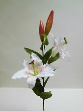 Lilie Seidenblume Kunstblume 75 cm N-12035-0 weiß F12