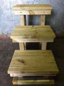 Solid Timber Mounting Block ,Horse, Pony Mounting Steps