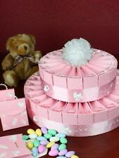 Baby Shower Pink Favour Cake Kit- 2 Tier Bomboniere  Baby Girl