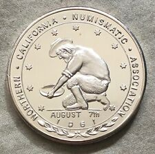 Northern California Numismatic Association, Twin Bicentennial Medal, 1976