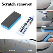 Useful Car Scratch Repair Remover Wax Car Strong Decontamination Wax+1x Sponge